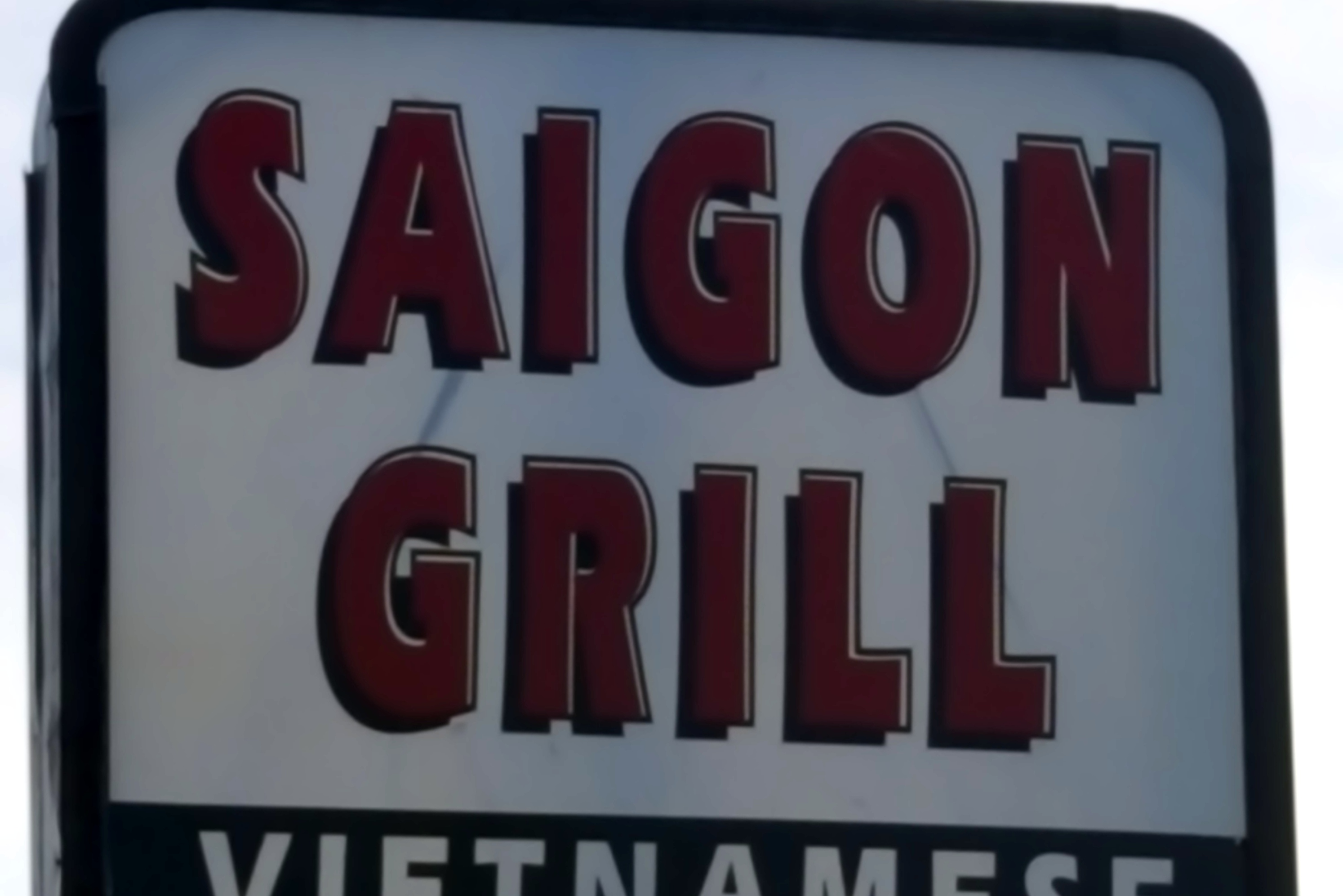 Saigon Grill Menu